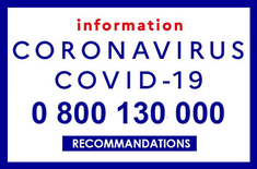 coronavirus: medical advice, emergency and information phone numbers in France