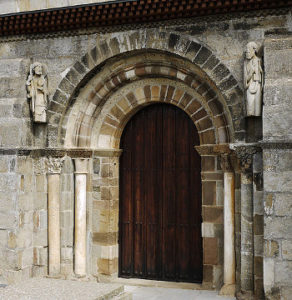 Santa Marta de Tera eglise portail sud Xauxa Hakan Svensson