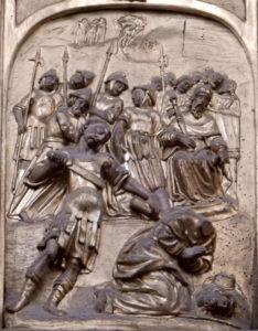 Décapitation de Saint Jacques, détail du choeur