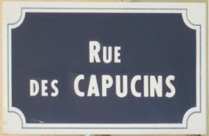Rue des capucins au Puy