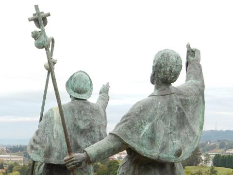 monte de Gozo: ultreia e suseia