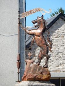 Podiensis - Aumont-Aubrac - loup
