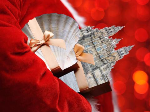 cadeaux noel pèlerins compostelle