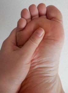 Massage fot