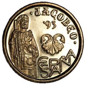 5 pesetas 1993 jubilee