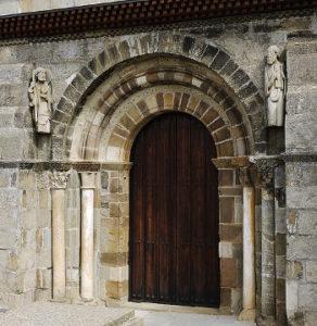 Santa Marta de Tera southern church portal Xauxa Hakan Svensson