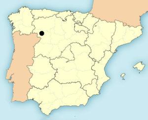 Santa Marta de Tera map
