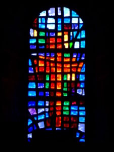 SPdAllier - stained glass window eglise