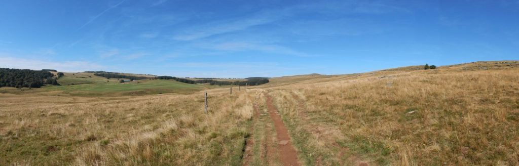 Podiensis - Aubrac - view in