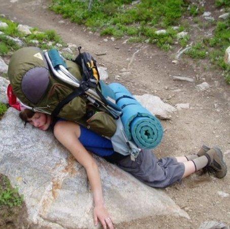 Camino bad advice, backpack too heavy