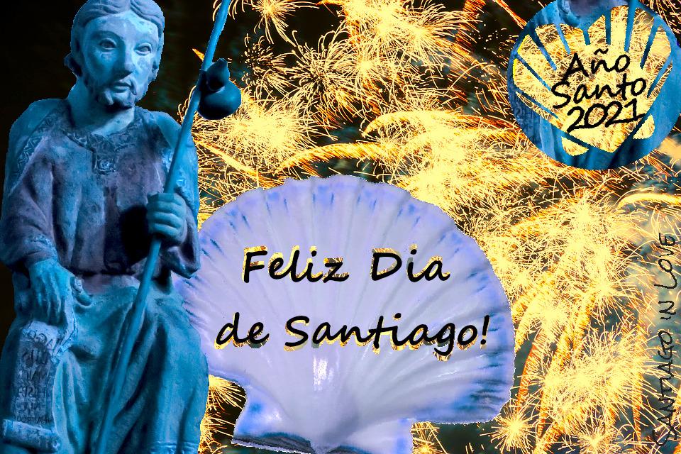Happy Saint James' Day 2021! Marion, Santiago in Love