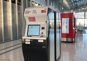 self-service long-distance ticket