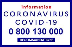 numéro information Covid en france
