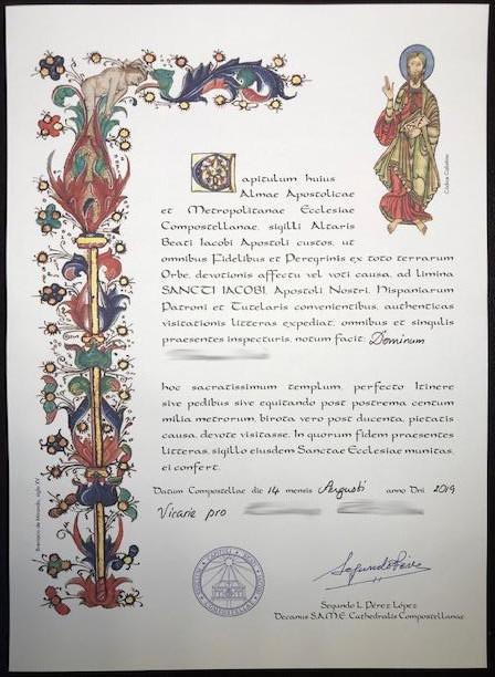 Caminos insolites - Compostela vicarie pro
