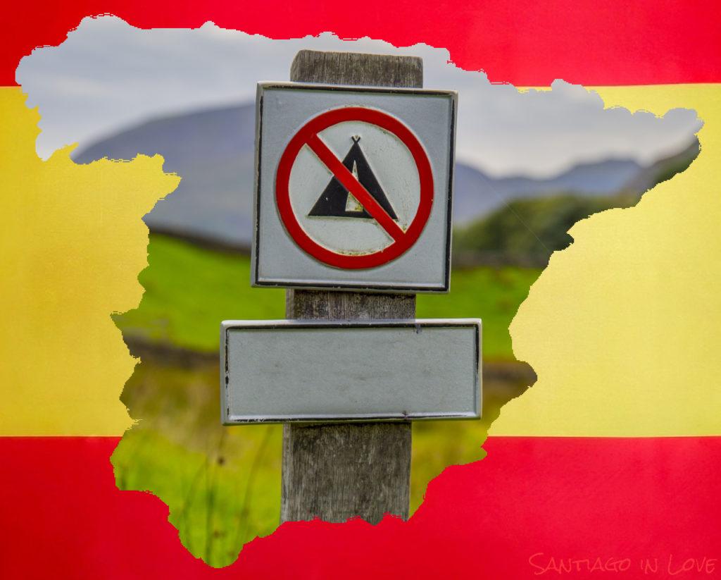 camping en Espagne, légal ou pas? Marion, Santiago in Love